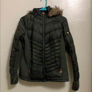 Michael Kors Army Green Winter Coat